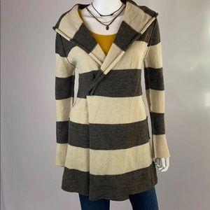 Elan Striped Cardigan